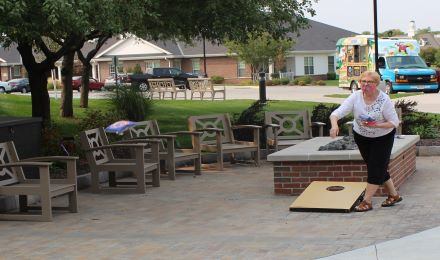 Image for Outdoor fun at The Landing, Immanuel Village and Immanuel Courtyard