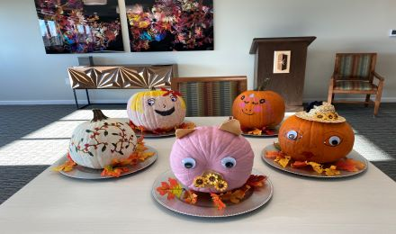 Image for Pumpkin Decorating at Graceview Courtyard