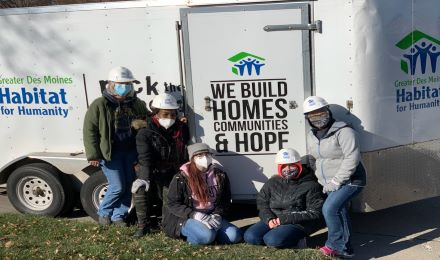 Habitat for Humanity - Pathways Staff Give Back