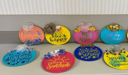Image for Spring Door Signs at Immanuel Fontenelle